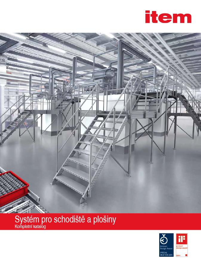 Systémy pro stavbu podest a schodišť TPS