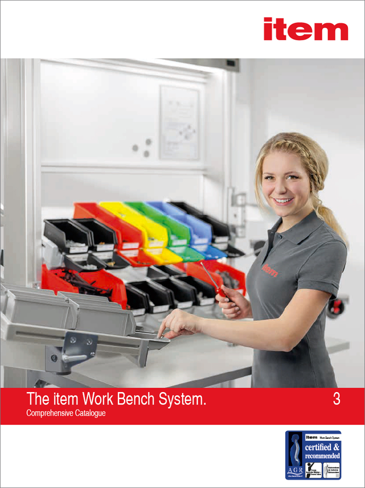 Pracovní stoly a transportní vozíky WBS 3