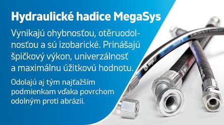 Hydraulické hadice MegaSys